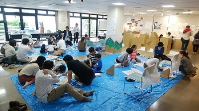2017年 「子どもワークショップ」 指導:永山裕子